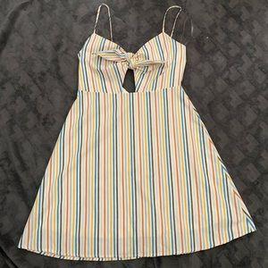 Fun Keyhole Altard State Dress Size L